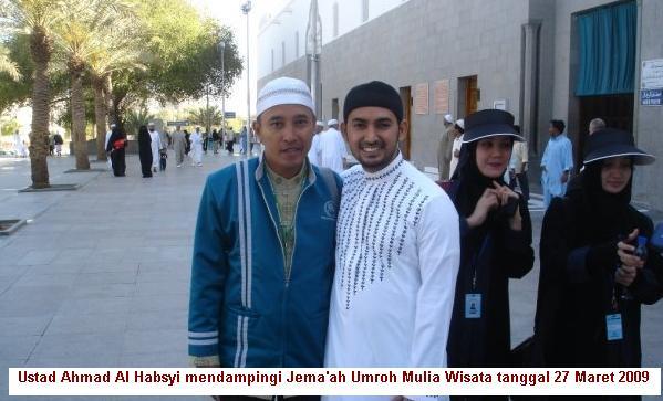 Jema'ah Mulia Wisata bersama Ustad Ahmad Al Habsyi